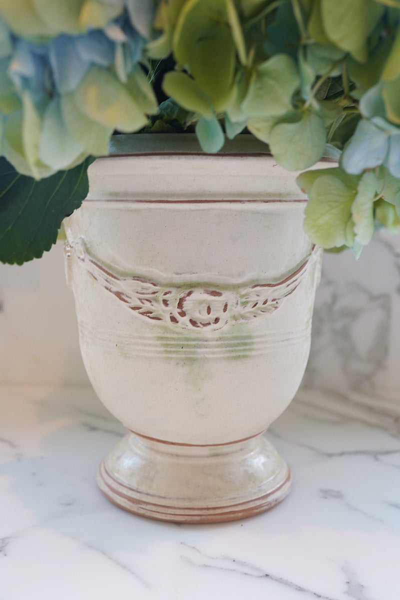 Anduze Pot in Antiqued Moss