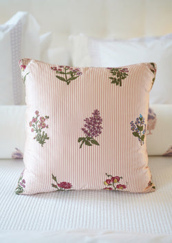 Herbier Embroidered Pillow