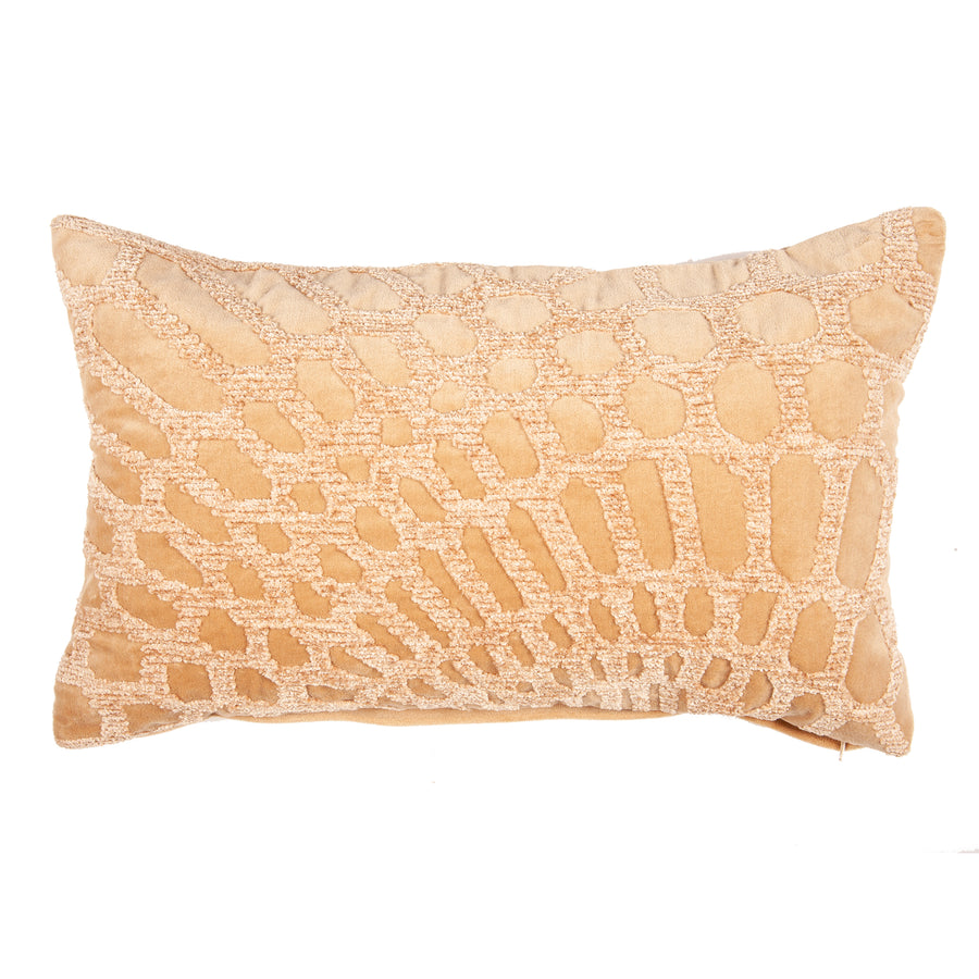 Alessia Lumbar Embroidered Pillow