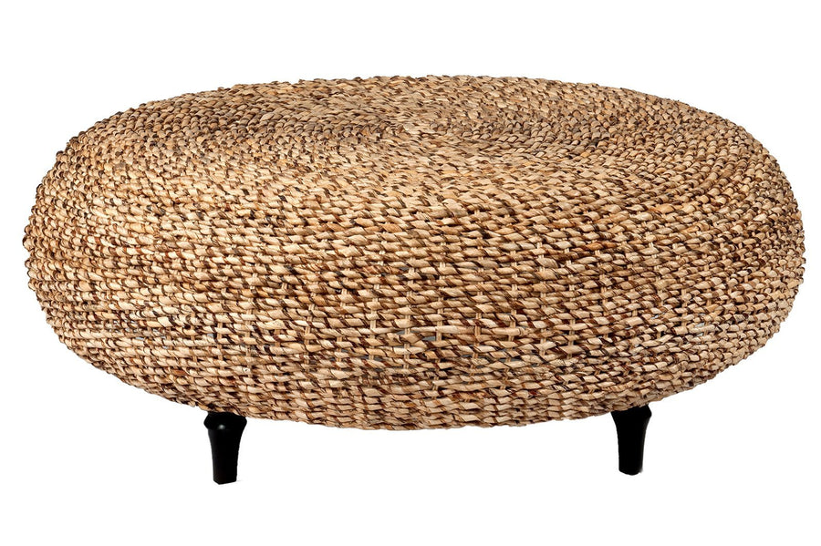 Brown Abaca Coffee Table