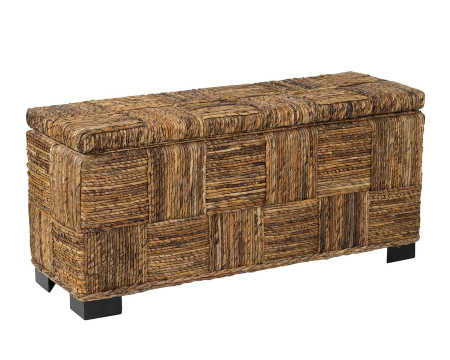Brown Abaca Bench