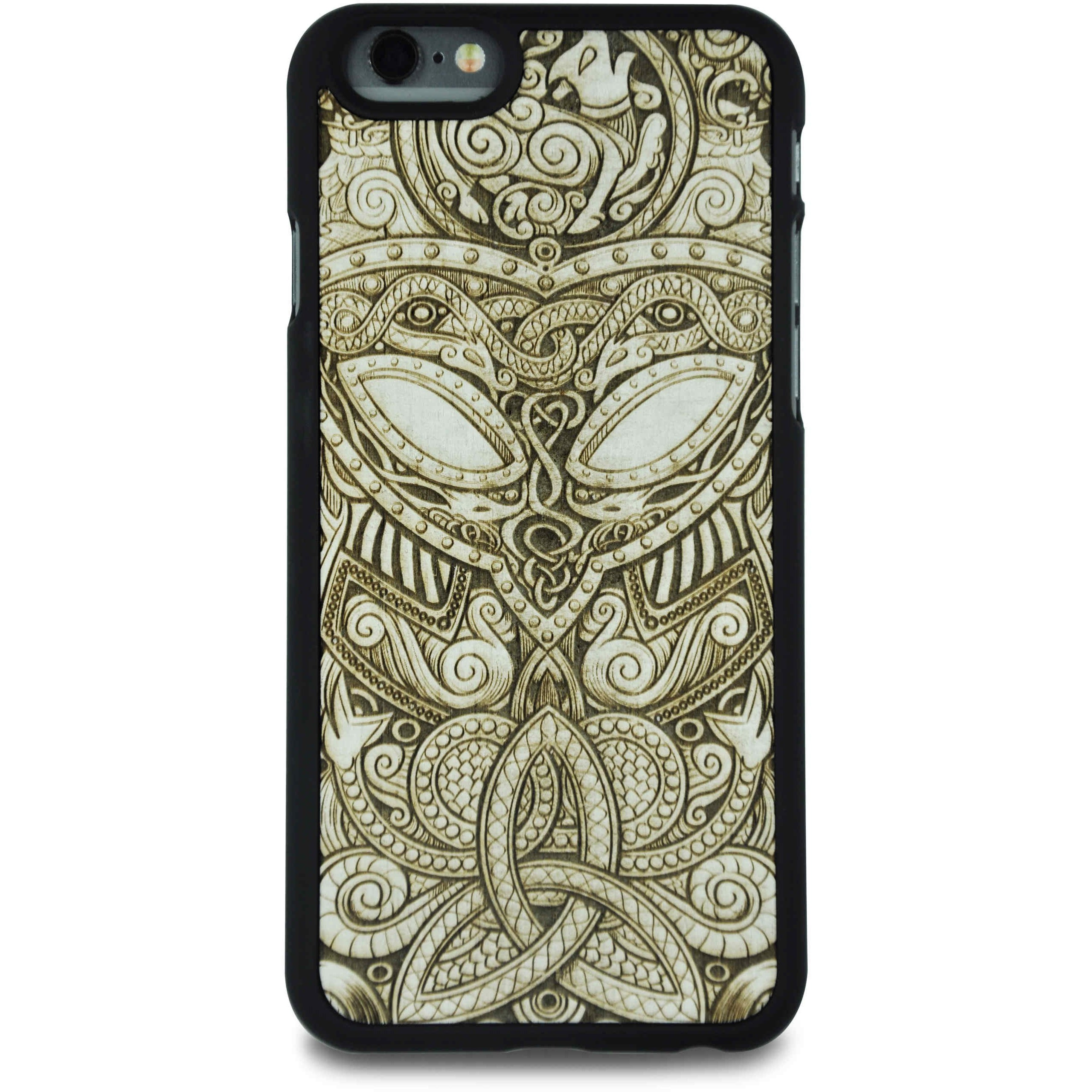MMORE WhiteWood Viking Mask Phone case