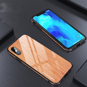 Wooden Tempered Case
