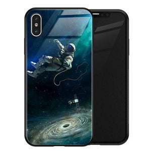 Tempered Glass Space Cases