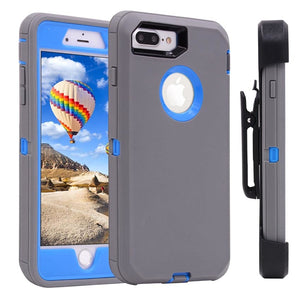 Heavy Duty 3 in 1 Shockproof  Case & 360 Degree Rotary Belt Clip
