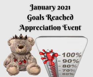 January 2021 Appreciation Event Sweepstakes Rules