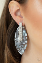 Load image into Gallery viewer, Paparazzi Maven Mantra Acrylic Post Earrings - Life of the Party Exclusive August 2020