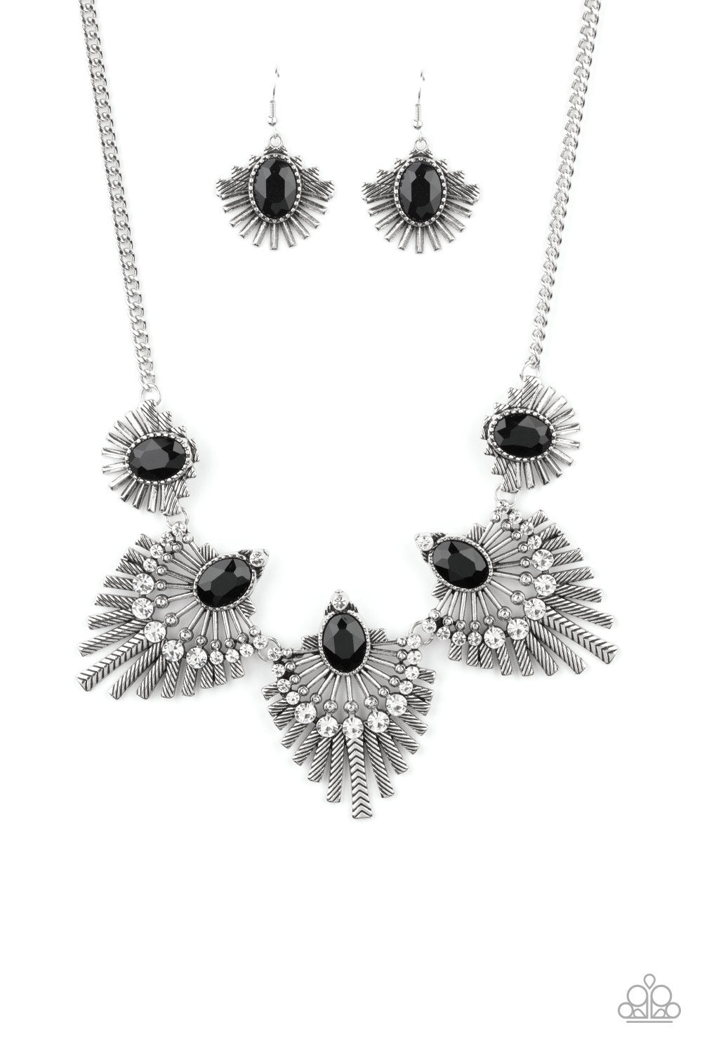 Paparazzi Miss YOU-niverse Black Short Necklace