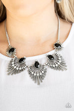 Load image into Gallery viewer, Paparazzi Miss YOU-niverse Black Short Necklace
