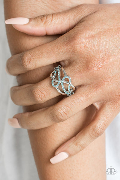 Paparazzi More Or Flawless Blue Ring