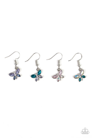Paparazzi Starlet Shimmer Butterfly Fishhook Earrings - P5SS-MTXX-216XX