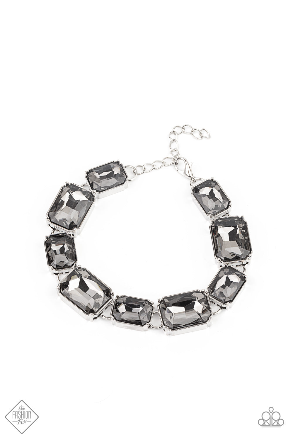Paparazzi After Hours Silver Clasp Bracelet - Fashion Fix Magnificent Musings January 2021