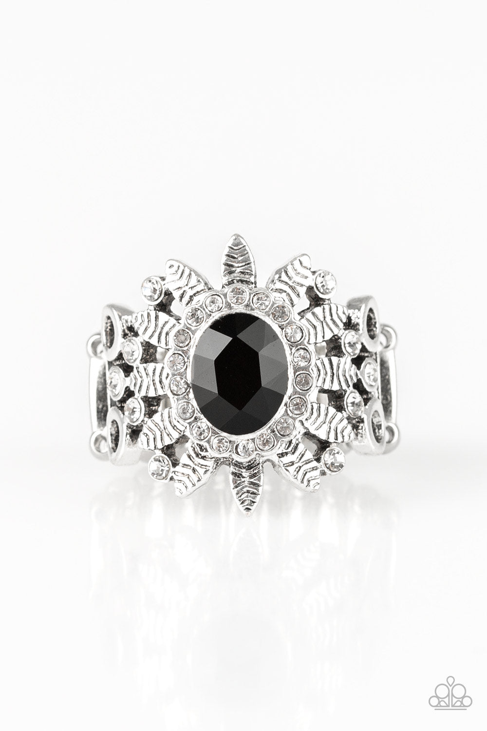 Paparazzi Burn Bright Black Ring