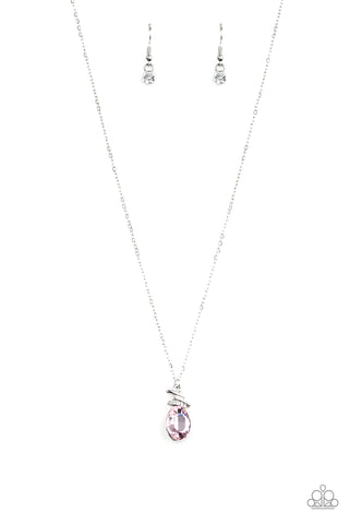 Paparazzi Diamonds For Days Pink Short Necklace