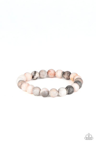 Paparazzi Invigorated Multi Stone Stretch Bracelet