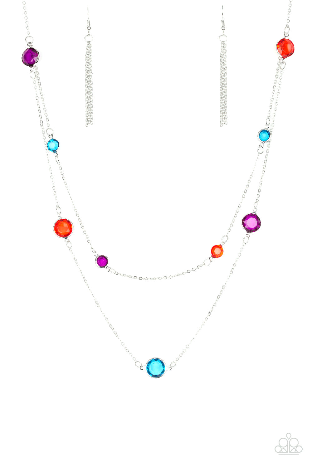 Paparazzi Raise Your Glass Multi Long Necklace
