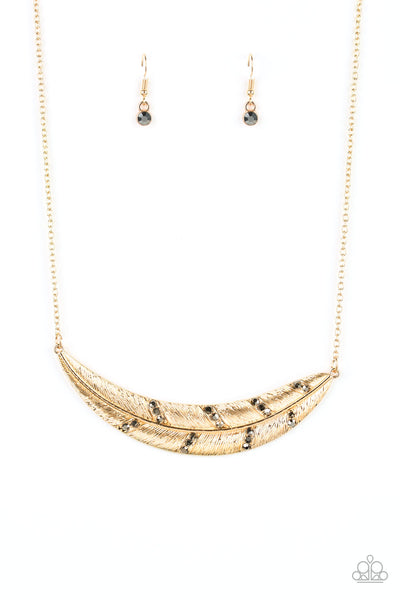 Paparazzi Say You Quill Multi Short Necklace