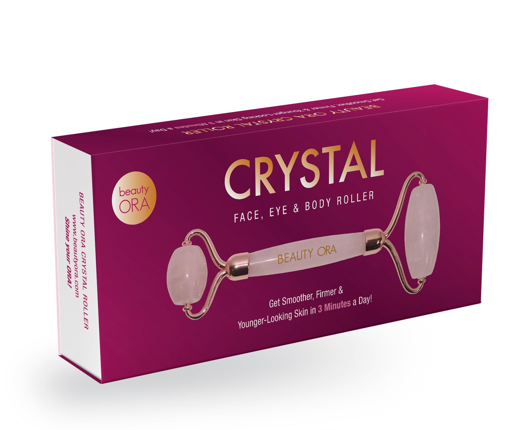 ORA Crystal Face, Eye & Body Roller
