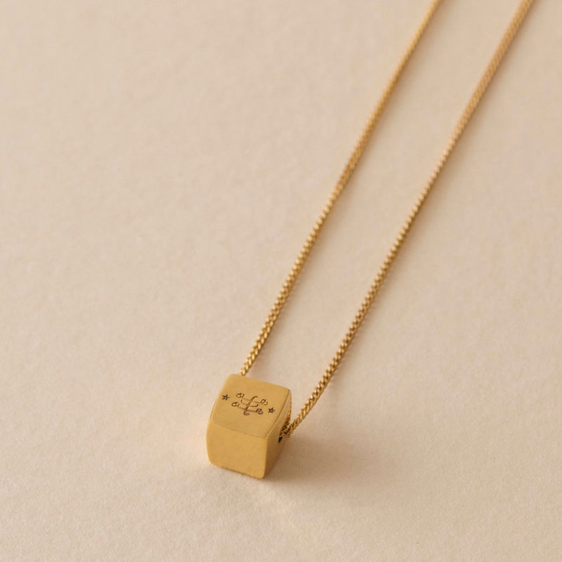 cube fortitude necklace