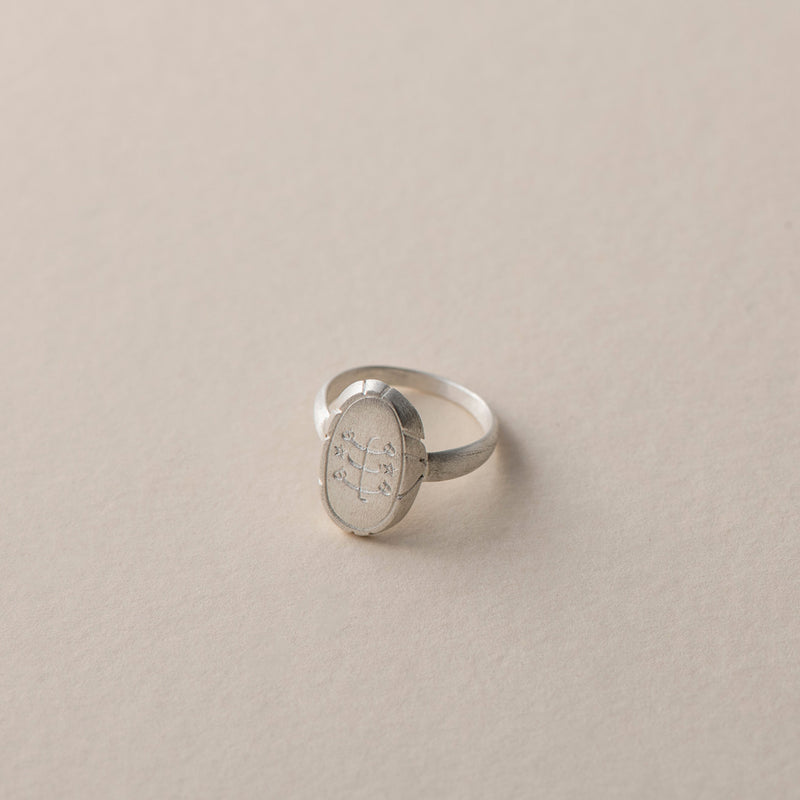 Bloom Oval Ring