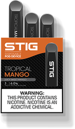 VGOD STIG Disposable - Tropical Mango (Pack of 3)