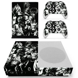 Skin Anime pour 2 manettes Xbox One S et sa console