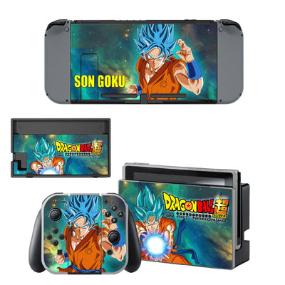 Sélection de skins Dragon Ball Nintendo Switch