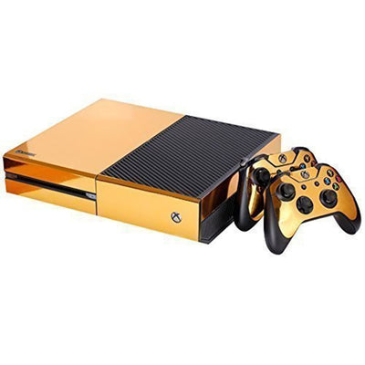 Skin Or pour 2 manettes Xbox One et sa console
