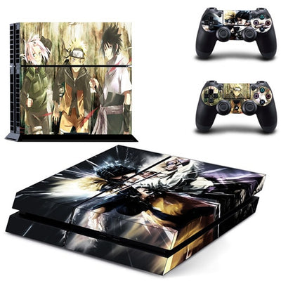 shazol - Différent skins Naruto pour 2 manettes et sa console Playstation 4 - Shazol -