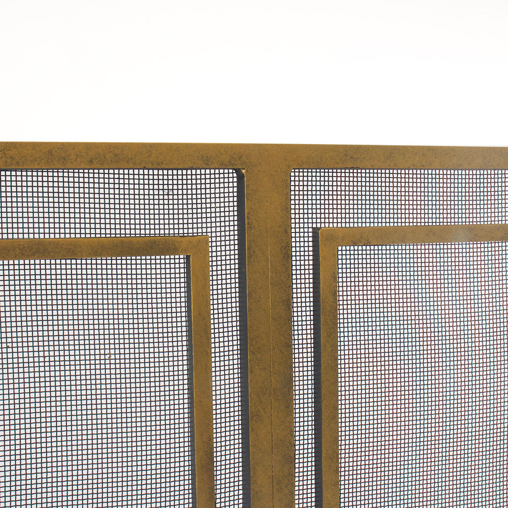 "Genevieve Fireplace Screen - 42"" w x 31.75"" h"