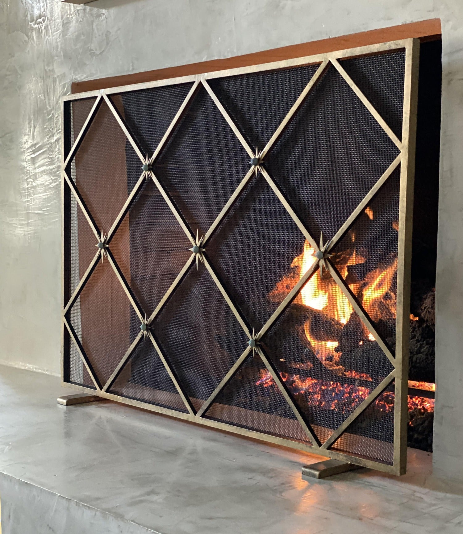 Celeste Fireplace Screen