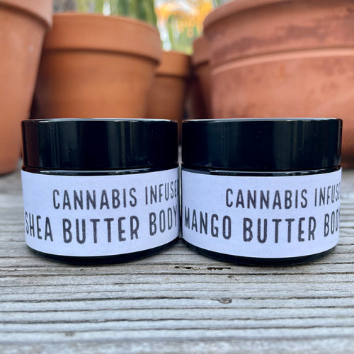Cannabis Infused Body Butter Balm Variety Pack