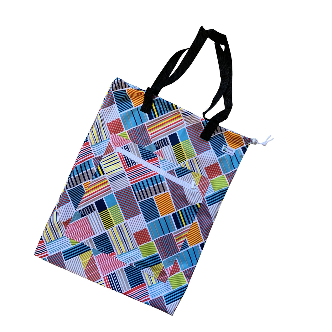 Checks Tote (large)