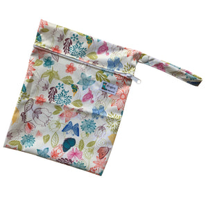 Flowers and butterflies wet bag inbetweener