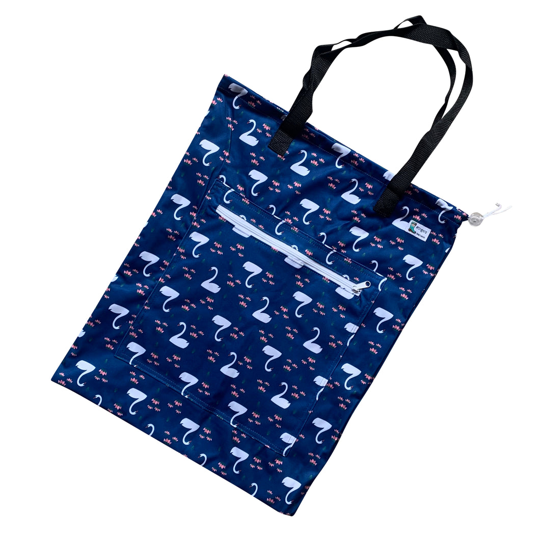 Swanning Around Tote (large)