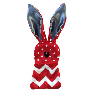 Dots and zig zags comforter wabbit