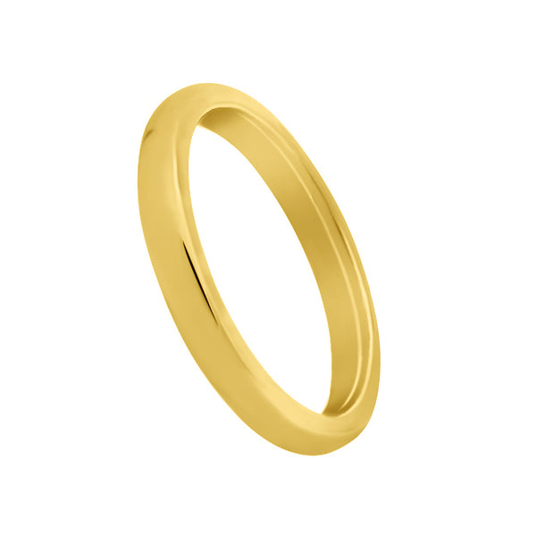 2.5mm European Fit Wedding Band