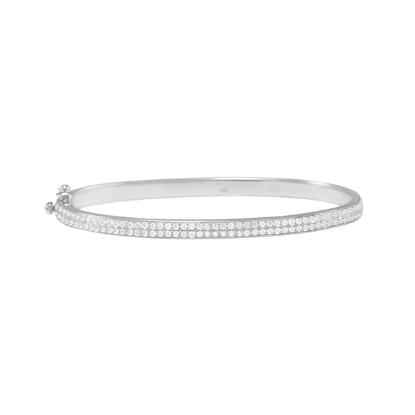 2-Row Diamond Bangle