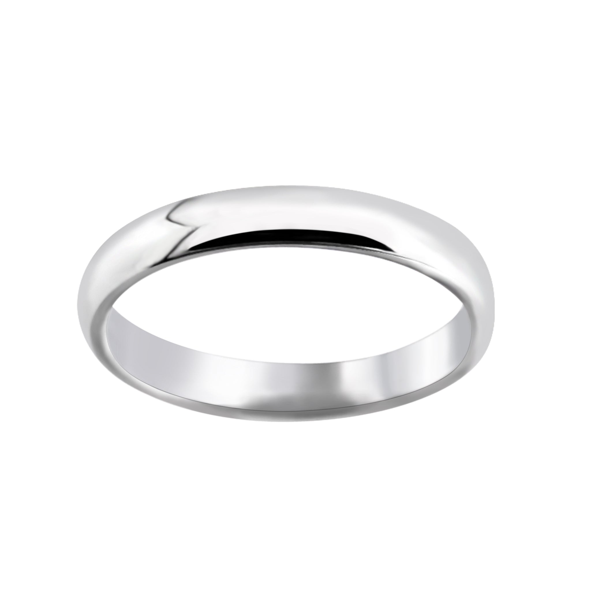 3mm Comfort Fit Wedding Band