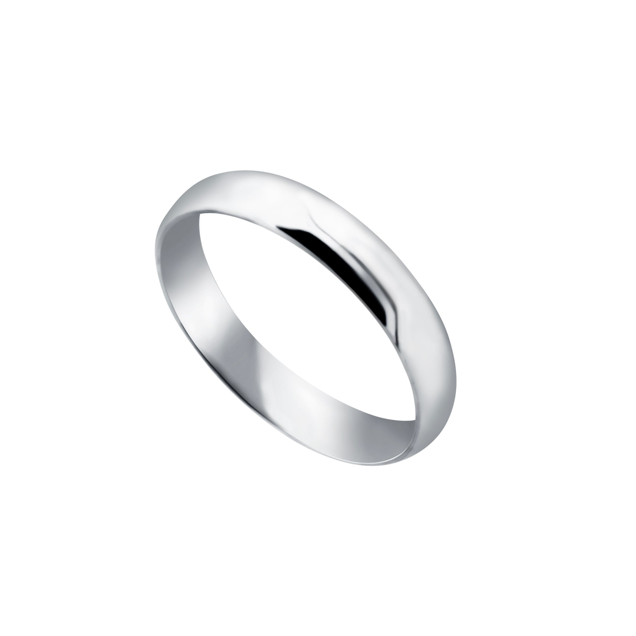 4mm Comfort Fit Wedding Band