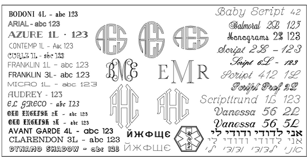 One Row Diamond Name Plate