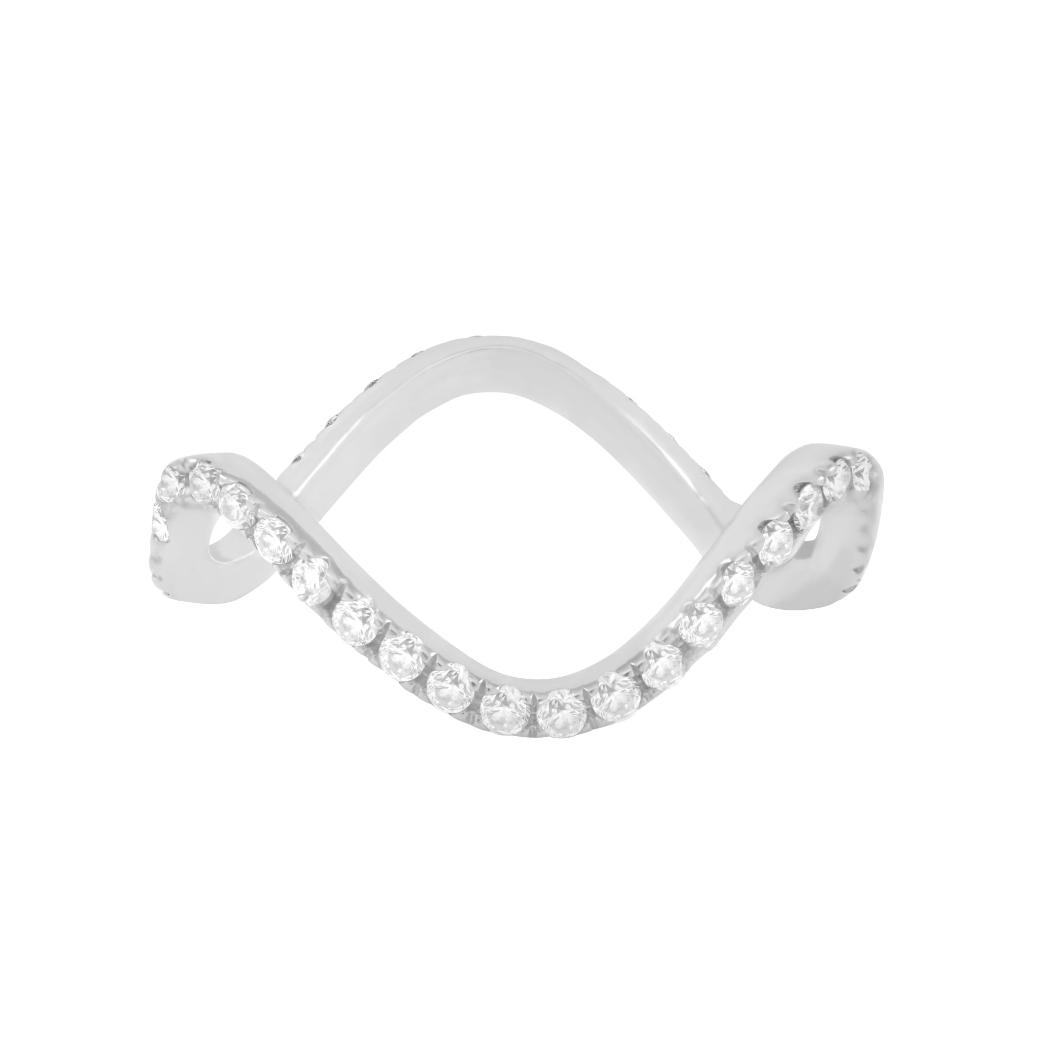 Diamond Wavy Stackable
