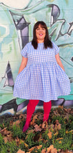 Load image into Gallery viewer, The Wizard of Oz inspired Blue Gingham Frock