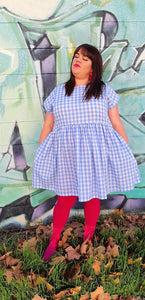 The Wizard of Oz inspired Blue Gingham Frock