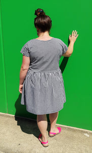 Black & White Gingham Frock