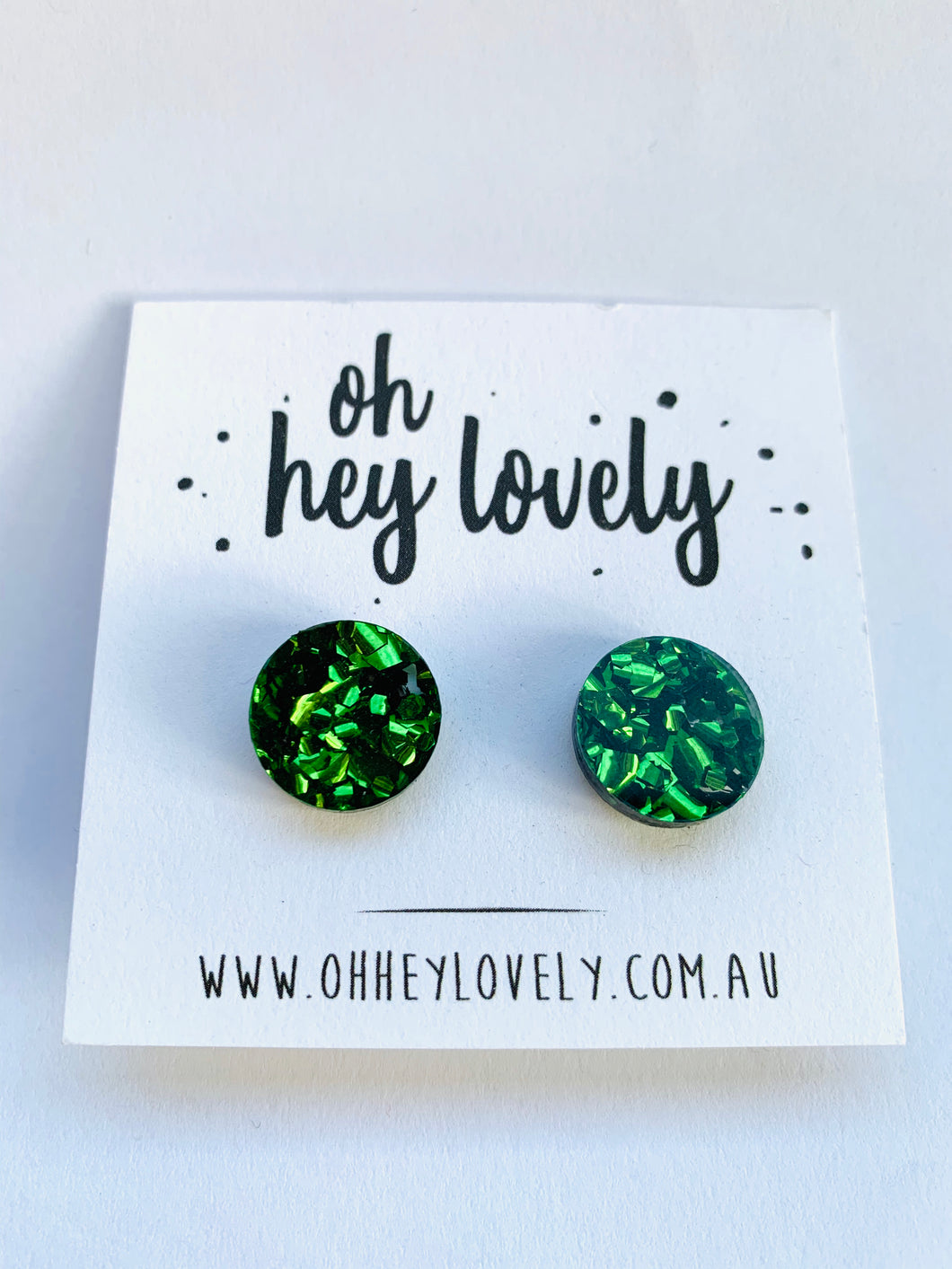 Paparazzi Green Stud Earrings
