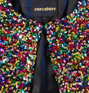 Sequin Rainbow Shrug