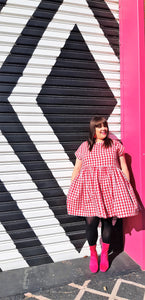 Lady Danger Red Gingham Frock
