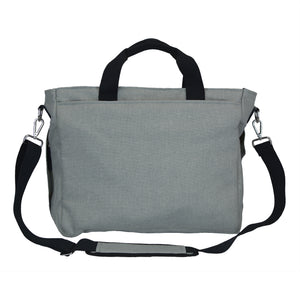 Good 2 Go Large Gray Diaper Bag Back