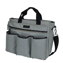 Good 2 Go Large Gray Diaper Bag Side